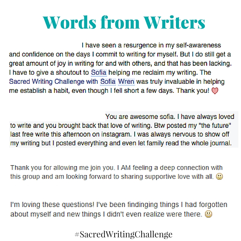 Words from Writers